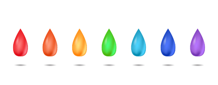 smoothness: Set realistic rainbow drops for your creativity