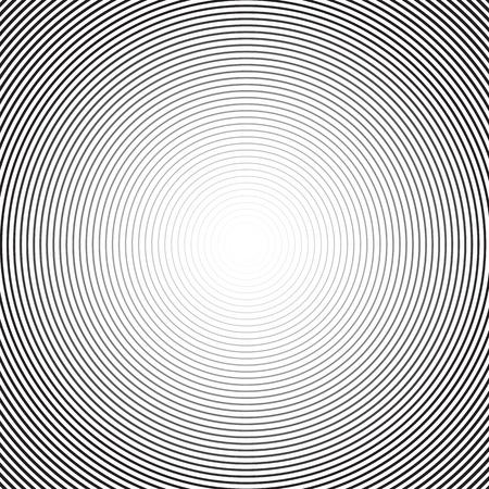 epicentre: Concentric circle background. Vector background. Circular halftone
