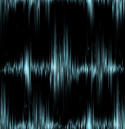 vibration: Seamless texture with blue vibration sound. Vector background for your creativity