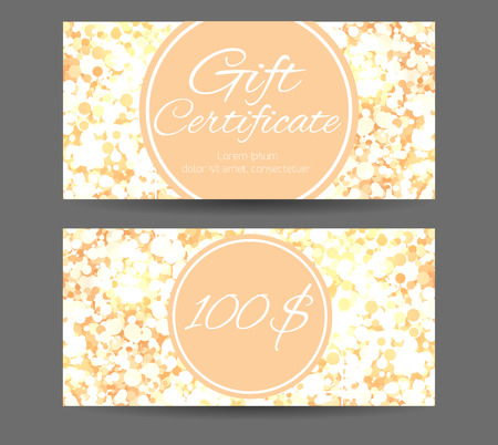 Luxury Template Gift Certificate For Yoga Studio Spa Center