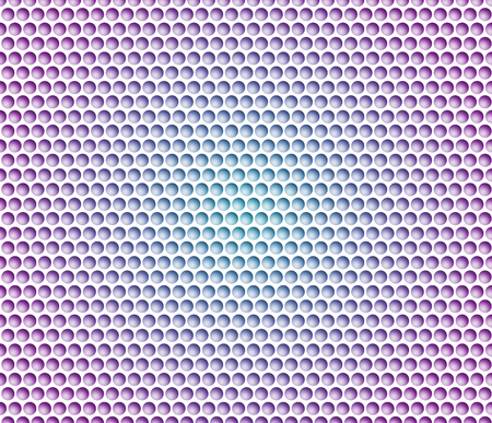 Abstract background with metal background. Grid of round cells with gradient.