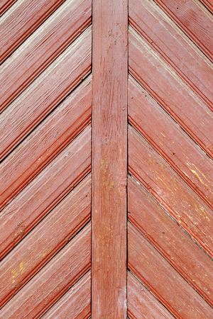 Old Wood Paneling with diagonal lines, background Imagens