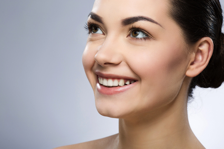 Attractive girl with make up