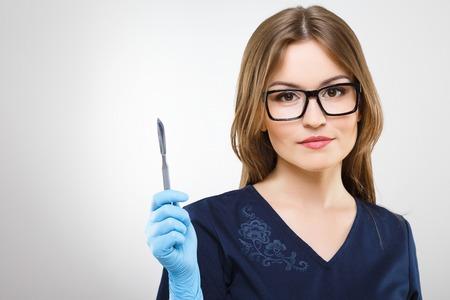 Portrait of medical worker Imagens