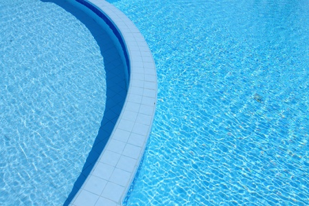 Outdoor shallow water swimming pool Stock Photo - 11116652