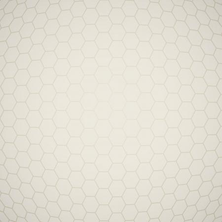 Light hexagon beige texture  EPS10 vector background Stock Vector - 16188980