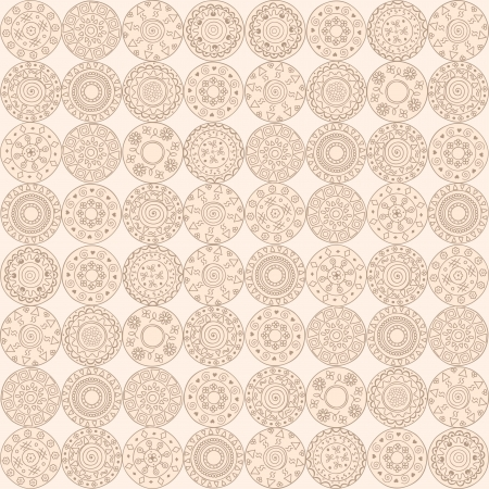 circles seamless pattern elements.