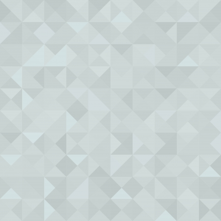 Light grey triangle texture  Vector seamless background