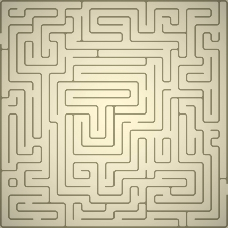 vector background with maze.