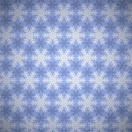 Beautiful snowflakes pattern.