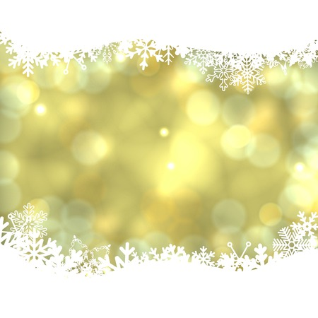 Elegant vector Christmas background wish snowflakes.