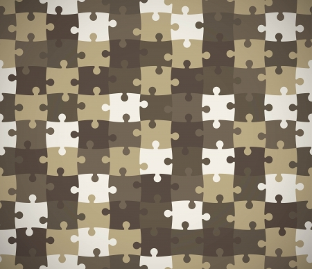 Seamless puzzle texture.  Illustration