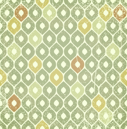 Retro pattern with scratches. Vector seamless background.