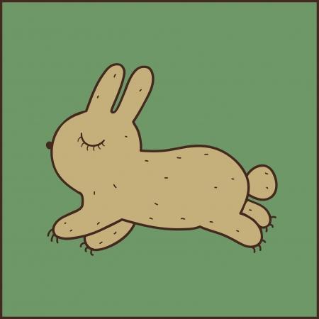 Vector bunny.
