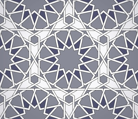 Seamless Islamic design. Eps10 vector background. Vector