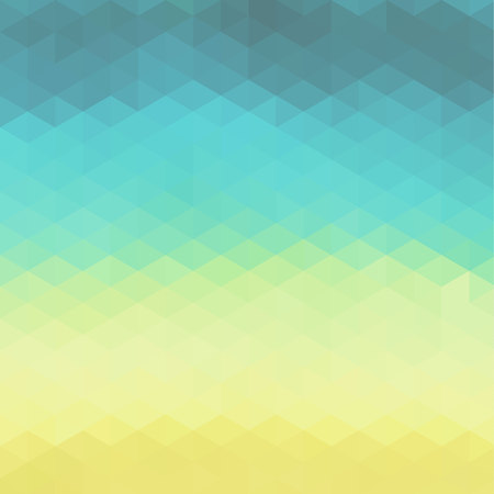 ombre: Vector bright colorful abstract background made of triangle elements.