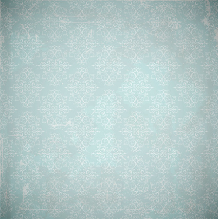 scratches: Vector damask background. Grunge style with scratches.