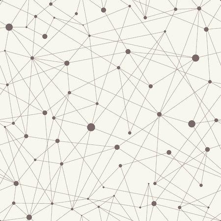 beige stof: Vector beige geometric seamless pattern.