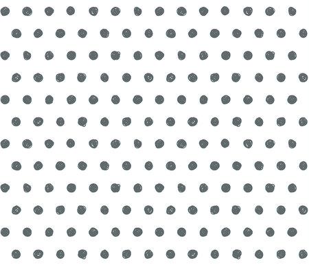 Scribble vecteur de fond avec motif de pois. Vecteurs