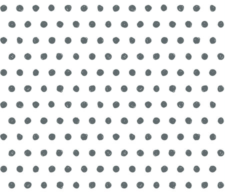 scribble: Scribble vector background with polka dots pattern.