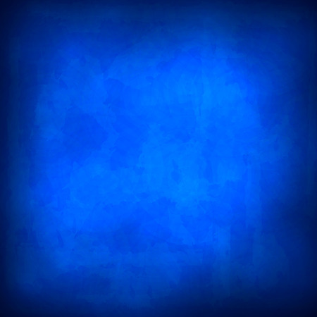 grubby: Blue abstract background with grunge effects. Illustration