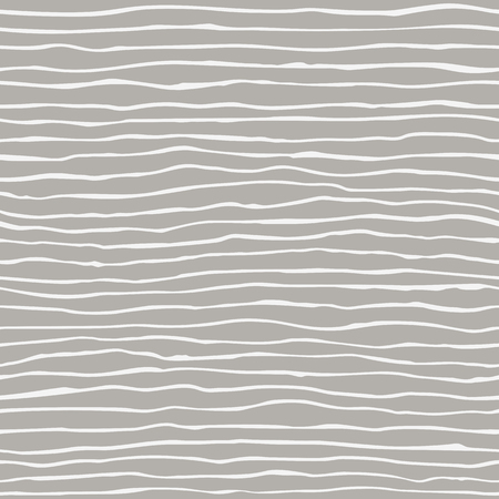 Vector seamless pattern with hand drawn lines. Gray and white colors.
