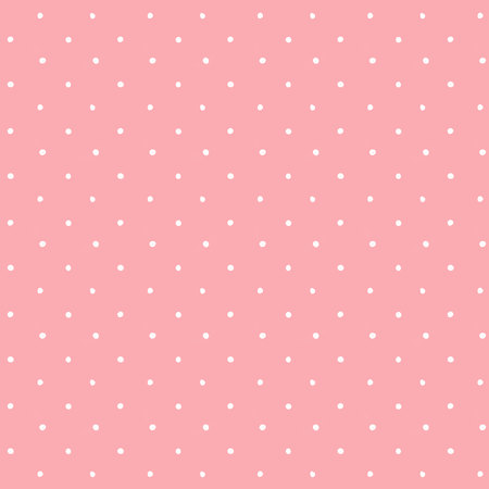 Vector beautiful polka dot pattern.