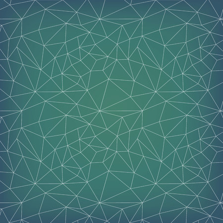 Vector pattern. Irregular abstract triangle grid. Graphical hand drawn background.