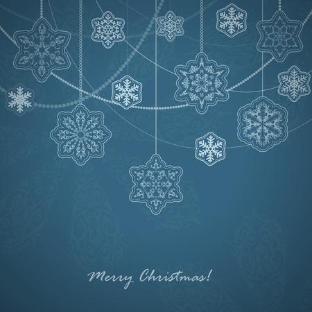 Beautiful Snowflakes card.