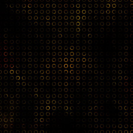 Vector glowing black background with pattern.
