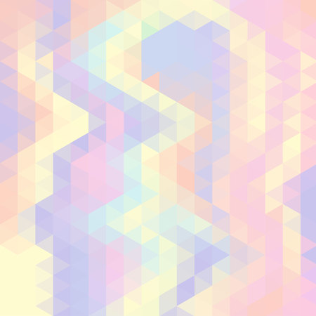 Abstract vector background made of triangle elements. Ilustrace
