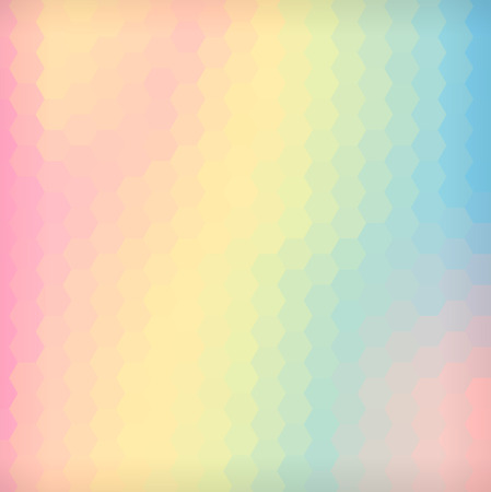 Abstract vector background made of hexagon elements.