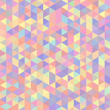 Vector bright colorful abstract background made of triangle elements.