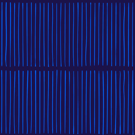 Vector pattern with lines. Black and blue colors.