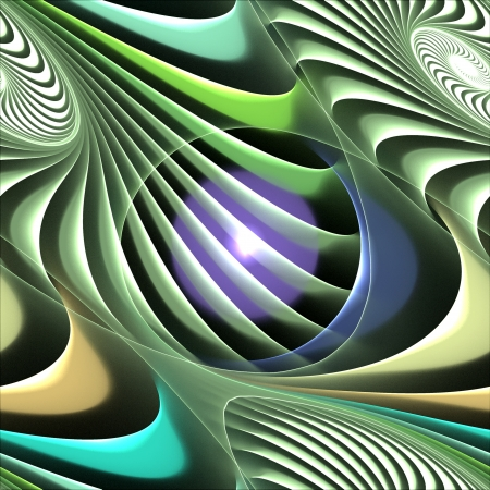 gree: Abstract background in gree and purple Stock Photo