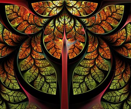 Fabulous Tree. Computer generated graphics. Standard-Bild