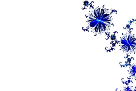 illustrate: Flower background  Computer generated graphics