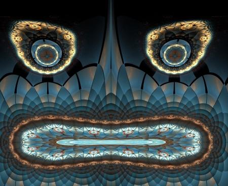 deity: Fractal Mysterious Ancient Deity