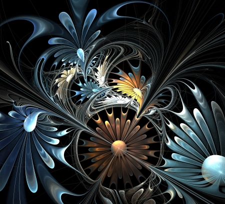 generate: Flower background  Computer generated graphics