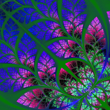 fabulous: Multicolor fabulous fractal pattern