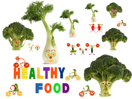 heathy diet: Fabulous healthy food country, made of fruits and vegetables