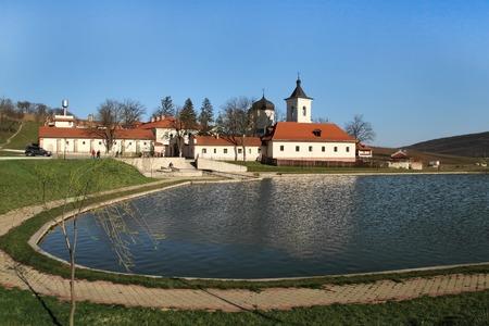 Monastery complex from Capriana, Moldova