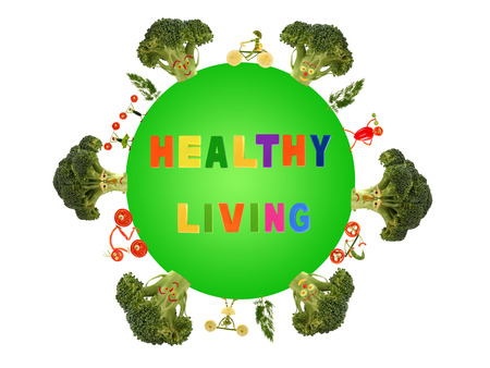 Healthy living for a green planet photo