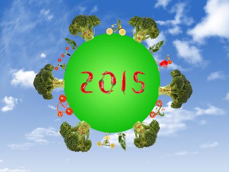 green planet: Vida sana por un planeta verde en 2015