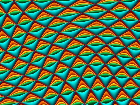 carpet flooring: Fractal . Collection - cells. Artwork for creative design, art and entertainment Stock Photo