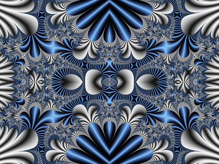 symmetrical: Fabulous symmetrical pattern for background.  Stock Photo