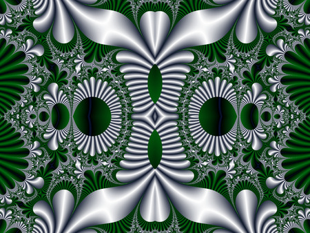 fabulous: Fabulous symmetrical pattern for background.
