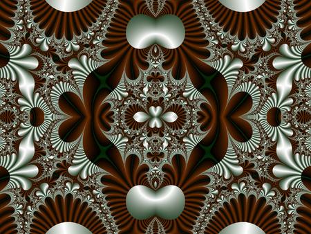 fabulous: Fabulous symmetrical pattern for background.