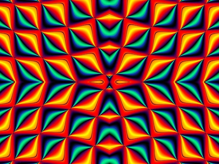 generating: Symmetrical fractal pattern. Collection - cells. Artwork for creative design, art and entertainment