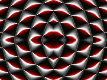 carpet flooring: Symmetrical fractal pattern. Collection - cells. Artwork for creative design, art and entertainment
